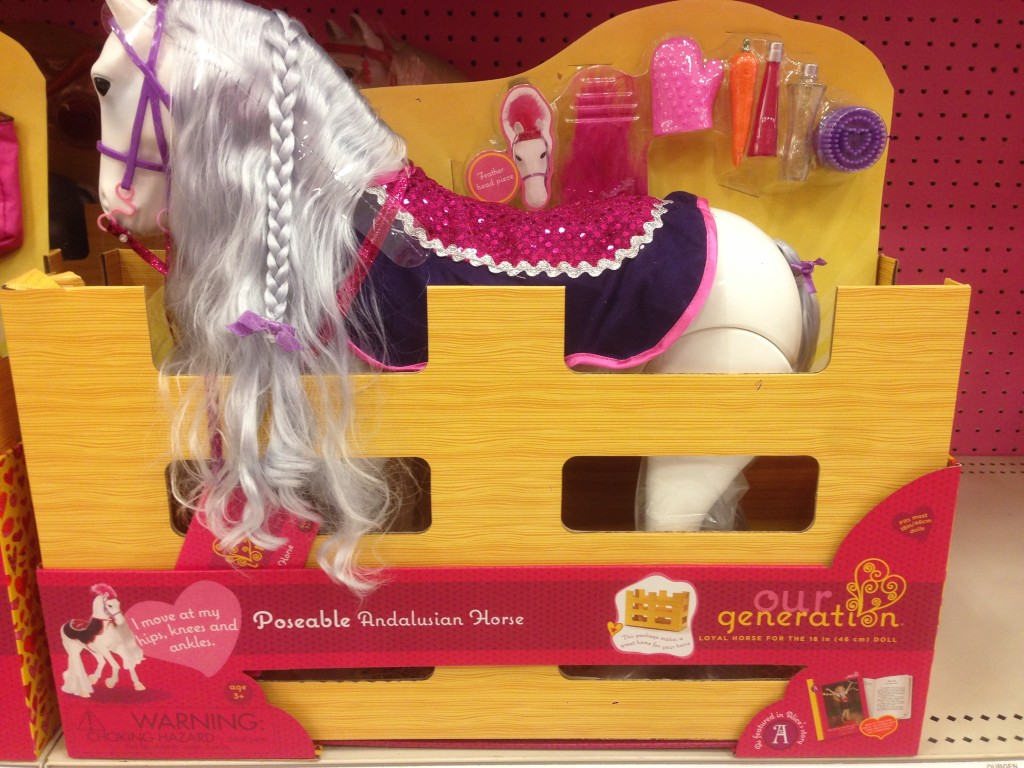 Our Generation Poseable Andalusian Horse