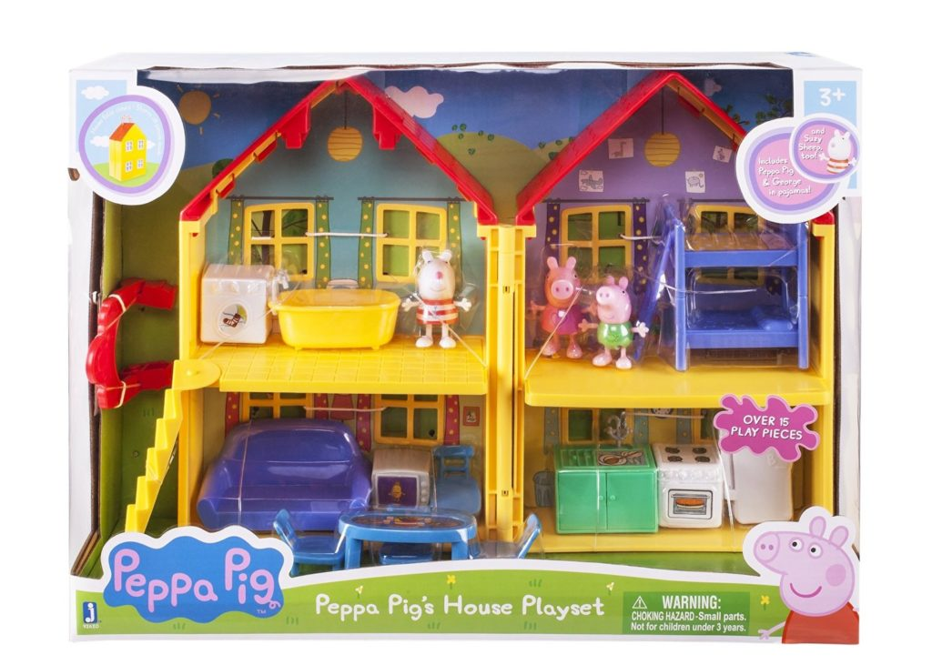 Peppa Pig's Deluxe House box