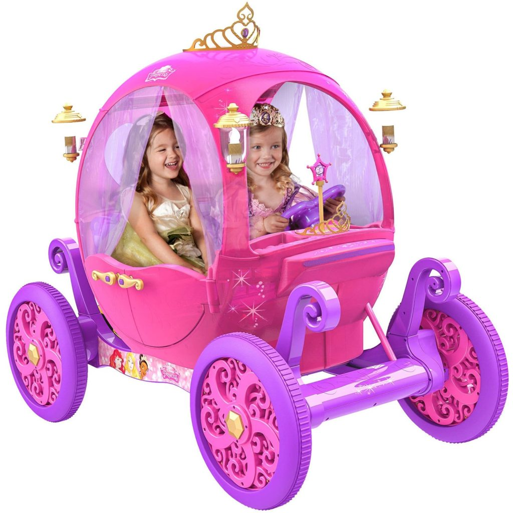 New Disney Princess Pink Carriage