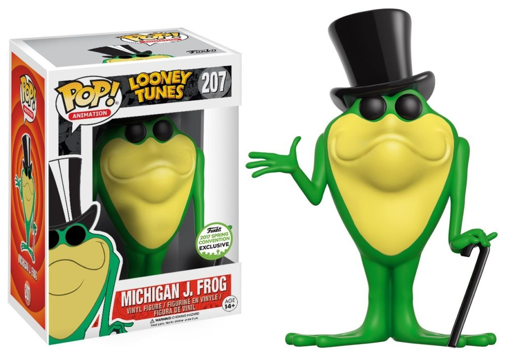 Funko Pop Michigan J. Frog