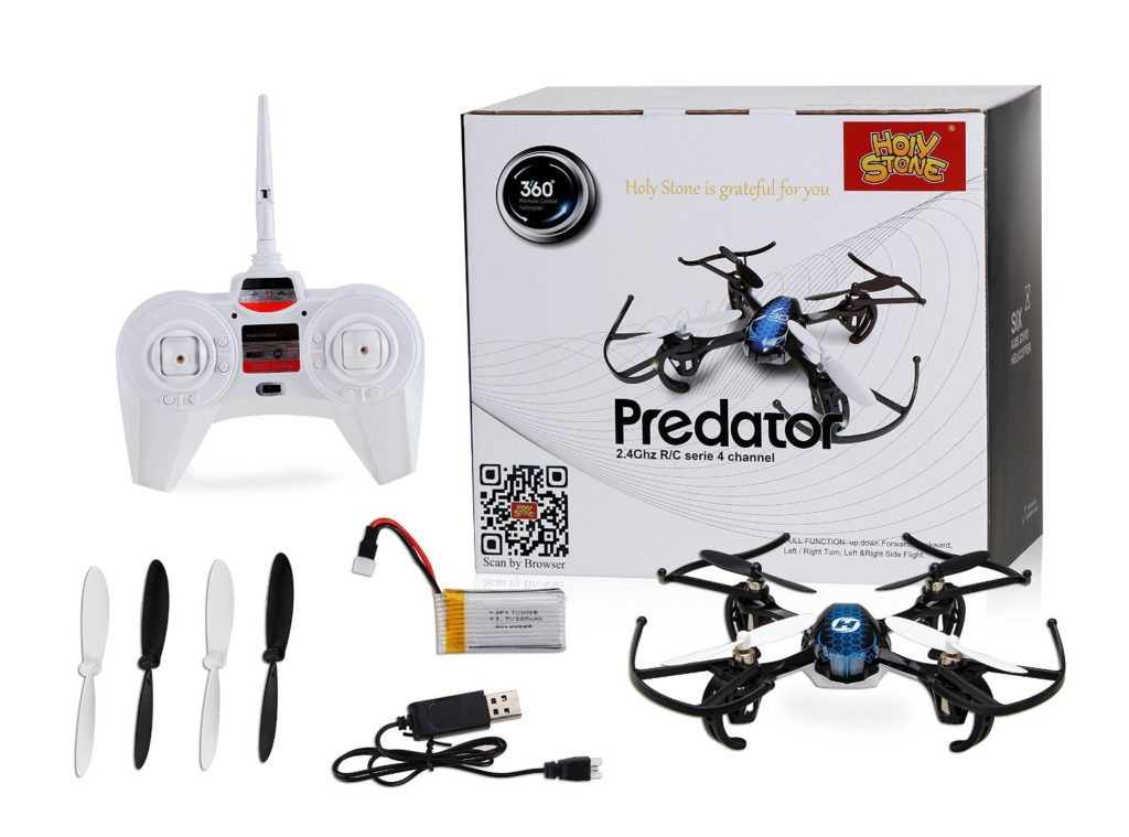 Holy Stone HS170 Predator Mini RC Helicopter Drone2